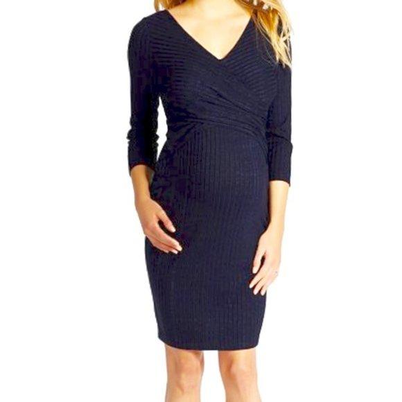 NEW Jessica Simpson Wrap Maternity Dress Large